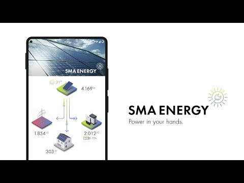 The new SMA Energy app - Power in your hands.
