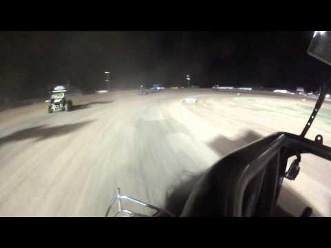 Lawton Speedway 5-2-15 Champ Sprint A main TJ Honkomp 76H