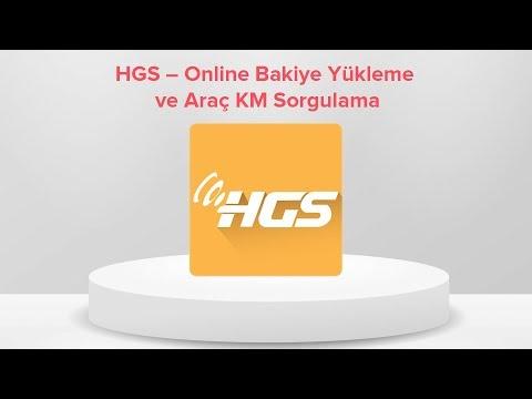 HGS'nize Bakiye Yüklemek ve Araç KM Sorgulama Artık Çok Kolay!