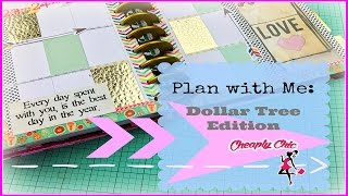 Gambar cover Plan with Me: Dollar Tree Edition! All things Dollar Tree, Collab with Maite Victoria!