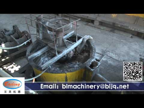 Working site of ore dressing, mineral dressing plant factory