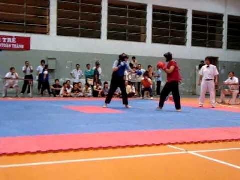 TSVĐ Bình Thạnh- Đối kháng nữ hạng  51kg giải Trẻ Tp 2009