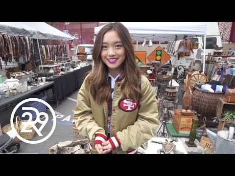 Jenn Im Shows Us Her Flea Market Haul | Dear LA | Refinery29