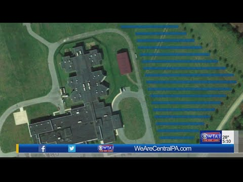 Solar panels could be installed on Centre Co. Prison property