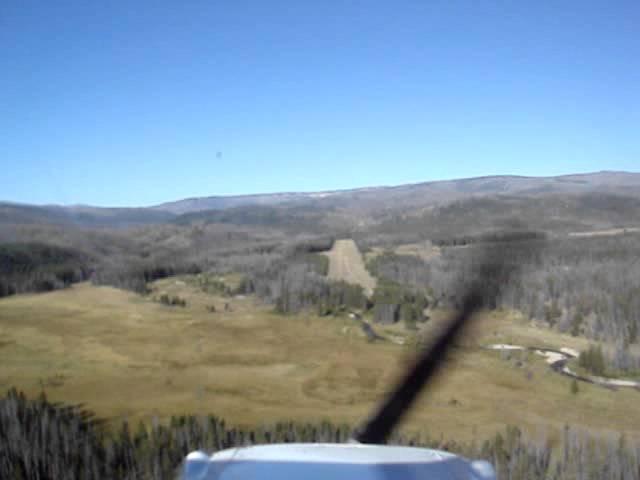 Landing at Chamberlain Guard Station, ID  -  U79