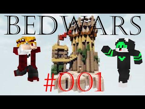 ERSTES VIDEO!!!! Bedwars 001 - FaniTV