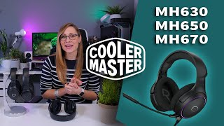 Cooler Master's new Bang for Buck Gaming Headsets - Cooler Master MH630 MH650 MH670 Review