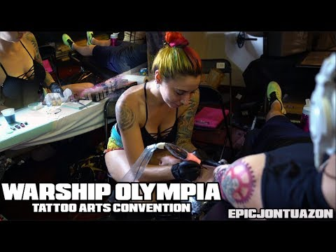 Warship Olympia Tattoo Arts Convention | Villain Arts