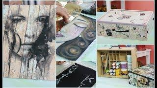 ManosalaObraTv Programa 112 - Pintura Decorativa - Pintar Tela - Sublimacion