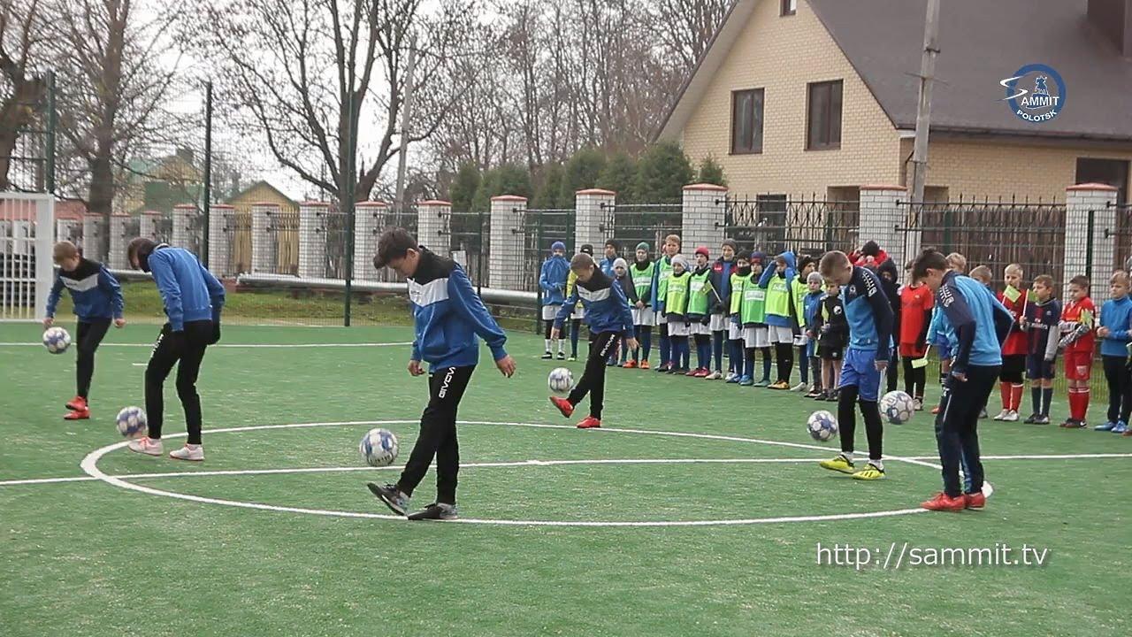 «Саммит+ТВ»: На «Спартаке» появилась современная мини-футбольная площадка