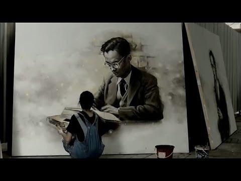 นศ.คณะจิตรกรรมฯ ศิลปากร รวมใจวาดภาพ 9 พระบรมสาทิสลักษณ์ ไว้อาลัยในหลวง รัชกาลที่ 9