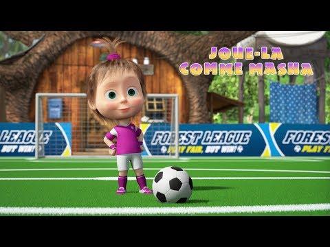 Masha Et Michka - ⚽ Surpasse Toi Comme Masha🥇Édition Football