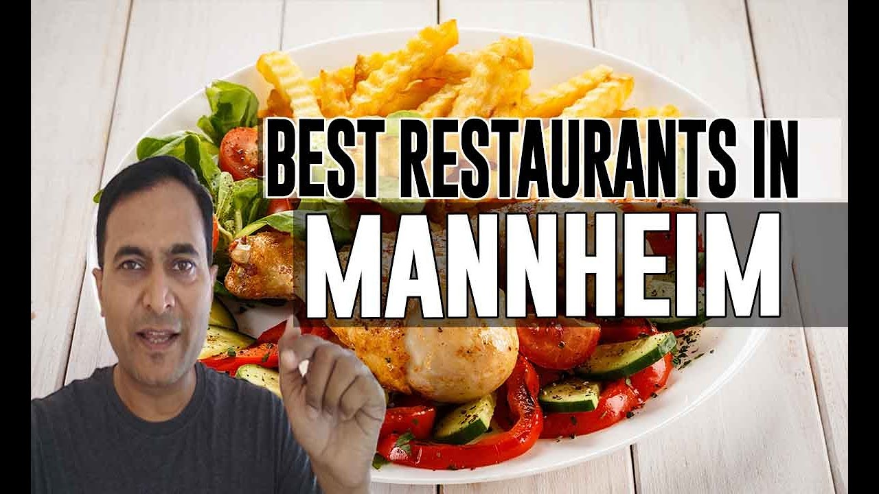 Best Restaurants Places To Eat In Mannheim Germany Youtube