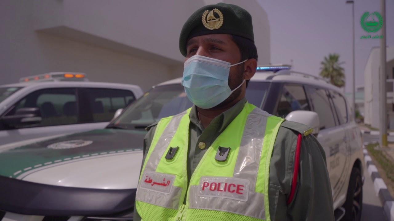 حمدان بن محمد يقوم بجولة ميدانية على مراكز خطوط الدفاع الأول