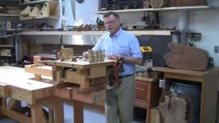 Foster Workbench - Using The  Foster Chair Vise© To Hold A Miniature Workbench