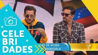Mau y Ricky Montaner estarán en el 'Venezuela Aid Live'   Un Nuevo Día   Telemundo