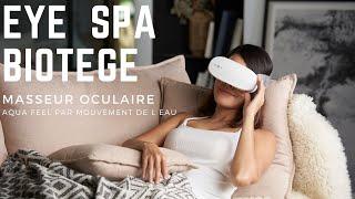 Masseur oculaire BIOTEGE Eye Spa vidéo