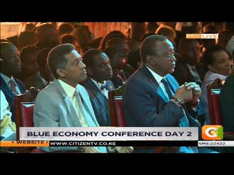 Nairobi governor Mike Sonko's speech on the blue economy conference  2018