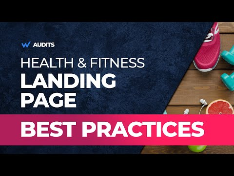 Fitness Product Landing Page Best Practices And More Landing Page Audits