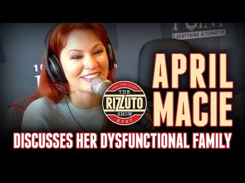 3rd timer APRIL MACIE on her dysfunctional family, marriage, and Netflix special! [Rizzuto Show]