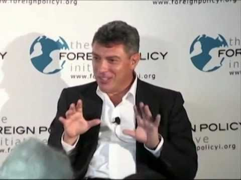 A Conversation with Boris Nemtsov Prospects for Democracy in Russia