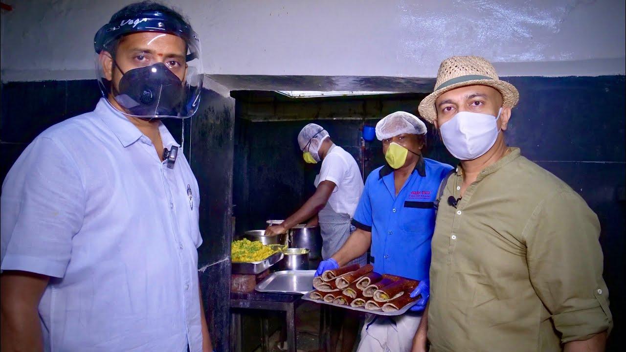 Tasting VIDYARTHI BHAVAN Bengaluru's Iconic MASALA DOSA In Lockdown Takeaway | Rerun Episode