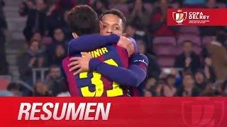 Resumen de FC Barcelona (8-1) SD Huesca - HD Copa del Rey