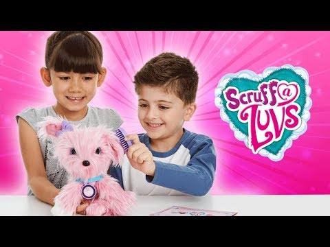 RESCUE AND RAISE ADORABLE BALLS OF FLUFF WITH SCRUFF-A-LUVS | A Toy Insider Play by Play