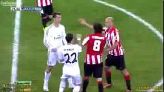 kartu merah cristiano ronaldo real madrid vs athletic bilbao hd