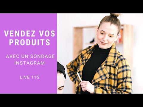 Sondage Instagram pour Vendre vos Produits VDI