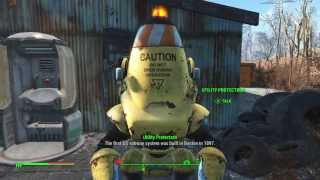Fallout 4: Give token to Subway Protectron