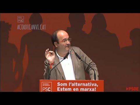 """Iceta: """"La respuesta judicial y policial empeorará la situación """""""