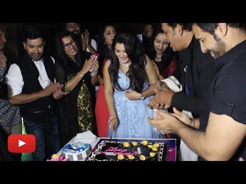 आम्रपाली दूबे की बर्थडे पार्टी का पूरा विडियो देखिये | Amrapali Dubey Birthday Party 2017