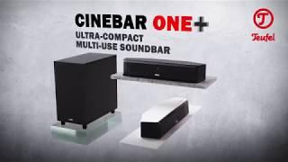 Cinebar One – Teufel's smallest HDMI soundbar - with optional wireless subwoofer