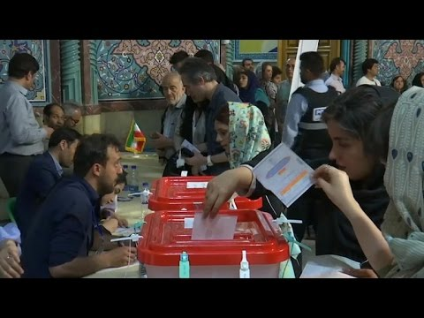 Moderate President Hassan Rouhani wins re-election in Iran
