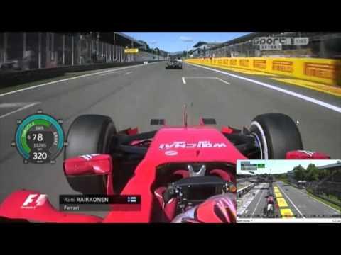 F1 2015 -Kimi Raikkonen - Ferrari  - 361 Km/h - Monza