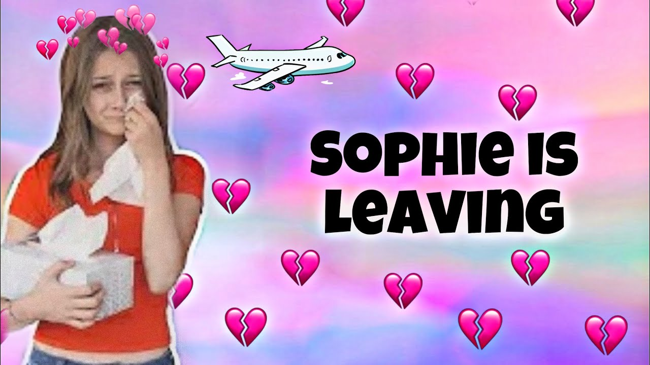 WHY IS SOPHIE FERGI LEAVING? **EMOTIONAL 🥺💔** l The Emoji Queen