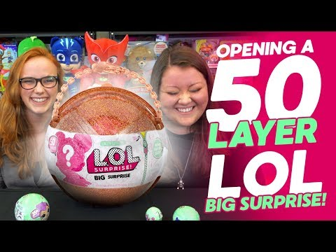 OPENING A LIMITED EDITION 50-LAYER L.O.L. SURPRISE BIG SURPRISE FULL OF COLLECTIBLES!