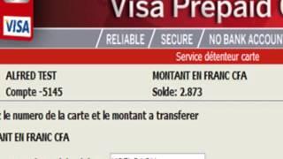 L'ACCÈS AU SITE WEB DE L'UBA AFRICARD