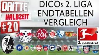 Dritte halbzeit | #20 ● dicos 2. liga-endtabellen-vergleich abschluss saison 15/16