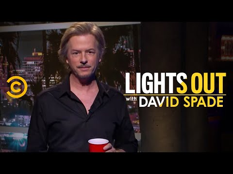 David Spade Deals With Hecklers During His First Show - Lights Out With David Spade