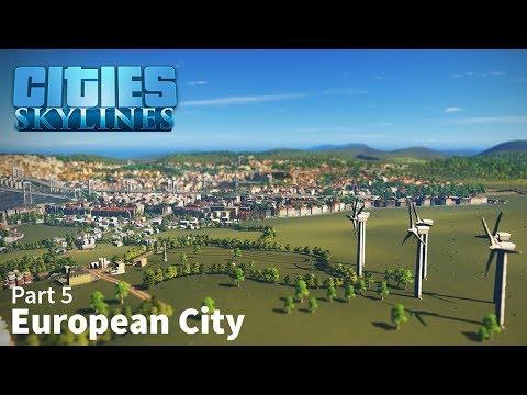 Cities: Skylines Speed Build - European City - Part 5