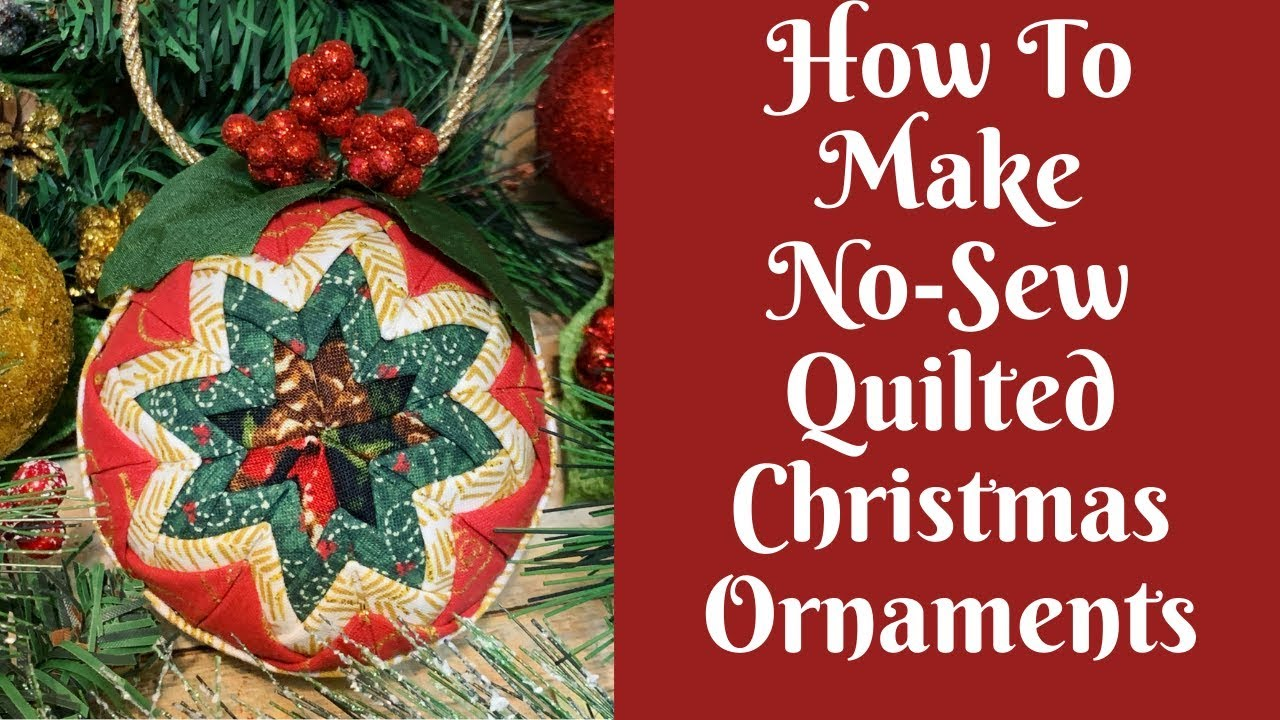 northern Illinois quilted ornament