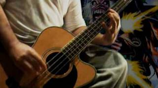 IRON MAIDEN - Tailgunner - Bass Cover