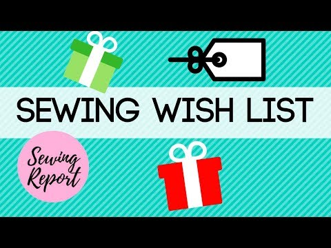 LIVE 🔴Holiday Sewing Wish List + Gifts 🎁 | SEWING REPORT