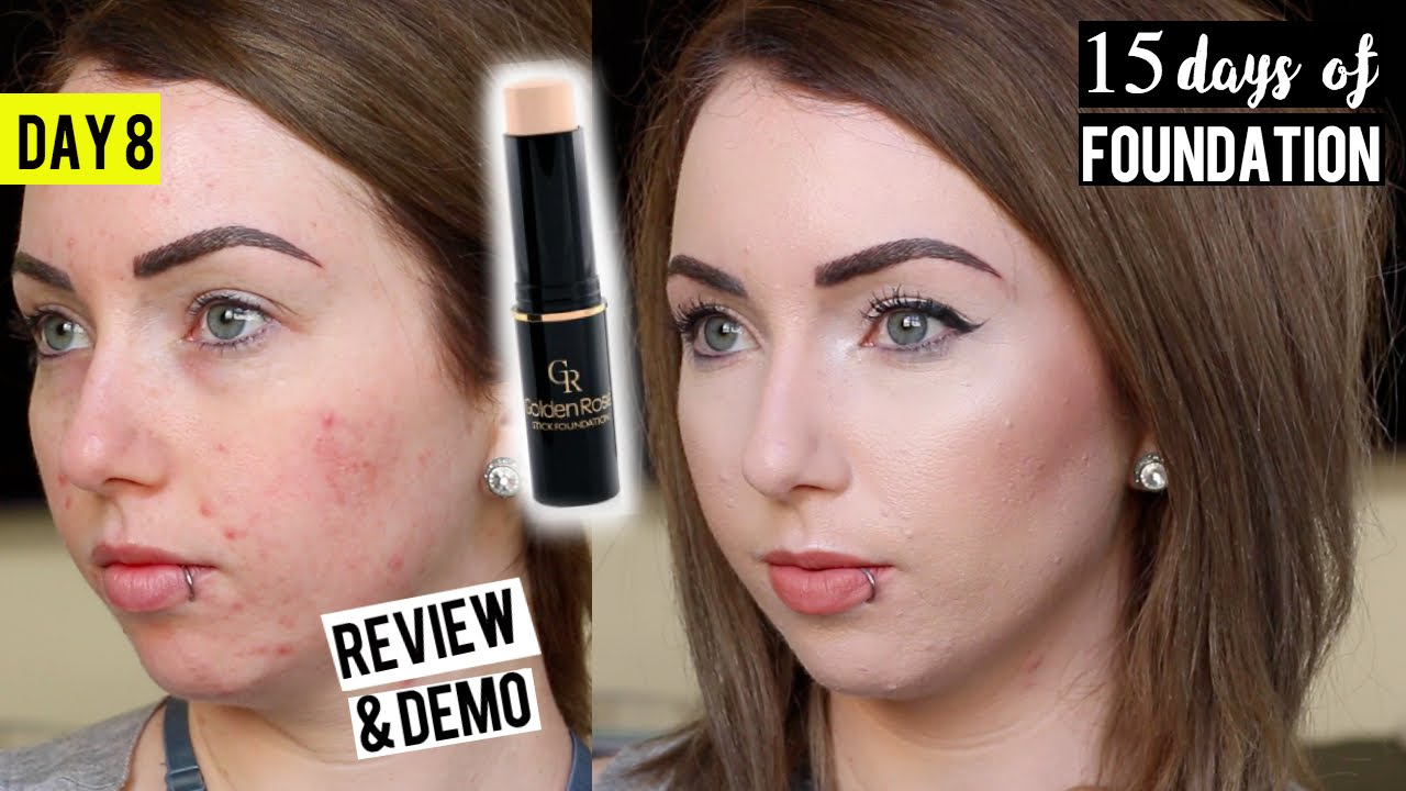 Golden Rose 6 Stick Foundation Review Amp Demo 15 Days Of