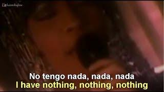 Whitney Houston - I Have Nothing [Lyrics English - Español Subtitulado]