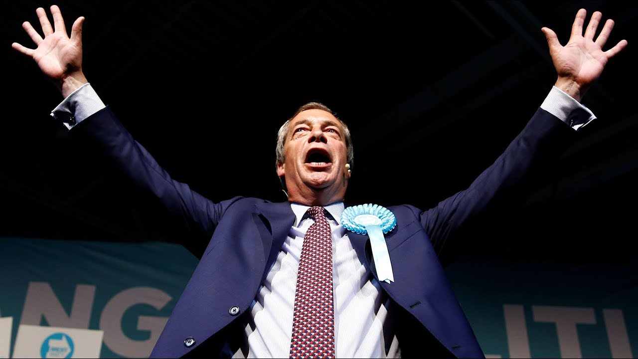 My week with Farage: Milkshakes, kisses, sold-out rallies, and supporters with a 'blind faith in him to deliver Brexit'
