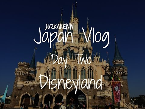 Japan Travel Vlog Day 2- Disneyland