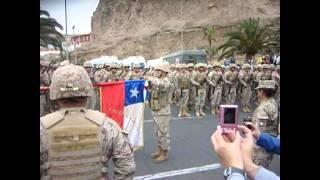 Juramento a la bandera Arica 2014